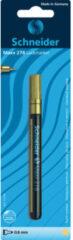 Goudkleurige Lakmarker Schneider Maxx 278 Blister 0,8mm Goud