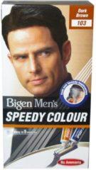 Bruine Bigen Men's Speedy Colour-103 Dark Brown