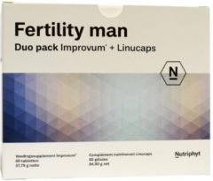 Nutriphyt Fertility man duo 2 x 60 capsules (120 Vitamine