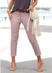 Paarse LASCANA 7/8-jegging