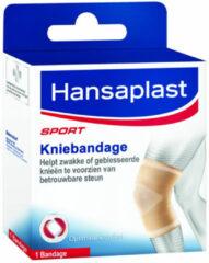 Huidskleurige Hansaplast Sport Kniebandage - M