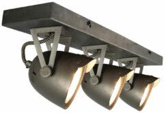 Budget Design Store LABEL51 Cap Opbouwspot - 3 Lichts - Zwart - GU10