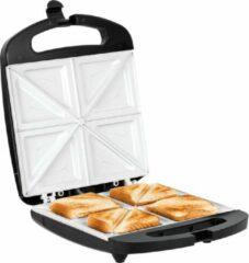 Zwarte Teesa Tosti ijzer, sandwich grill (TSA3229B)