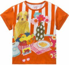 Room Seven Jersey shirt tota voor meisjes oranje