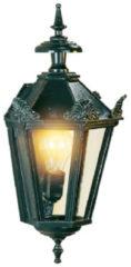 Groene KS Verlichting K.S. Verlichting Gevelverlichting Wandlamp Oxford 10 + kronen