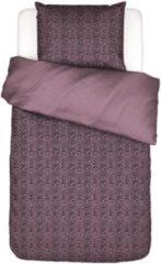 Essenza Home dekbedovertrek Bory lilac - 1-persoons (140x200/220 cm incl. 1 sloop)