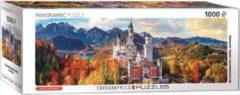 Eurographics Neuschwanstein Kasteel Panorama puzzel 1000 stukjes