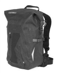 Zwarte Ortlieb Packman Pro2 Daypack 25L black Rugzak