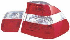 AutoStyle Set Achterlichten passend voor BMW 3-Serie E46 Sedan 1998-2001 - Rood/Wit/Rood (4-delig)