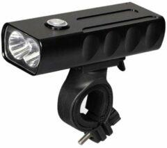 VastFire BX2 Fiets Koplamp – LED fietslamp – Mini USB oplaadbare fietslamp – 500m – geïntegreerde accu - Aluminium behuizing - 2x CREE T6 - Oplaadbaar - 1000 lumen – waterdicht - Zwart