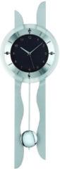 Grijze AMS 5243 RC - Klok - Glas - 24x70 cm - Grijs