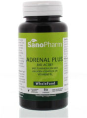 Sanopharm Andrenal plus - 60 Capsules - Voedingssupplement