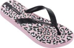 Roze Ipanema Classic teenslippers met luipaardprint