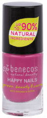 Rode Benecos Vegan Nail Polish My Secret