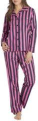 Rosa Boyfriend-Pyjama, gestreift rayville pink/navy