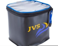 "Blauwe ""JVS EVA Dry Baitbox tas dubbel - """