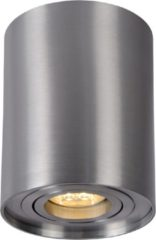 Lucide Plafondspot Tube Rond GU10 1-Lichts Dimbaar - Aluminium