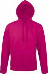 SOLS Snake Unisex Hooded Sweatshirt / Hoodie (Fuchsia)