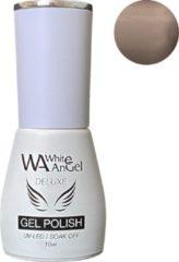 Naturelkleurige Gellex White Angel Gellex Deluxe Gel Polish, gellak, gel nagellak, shellac - Cashmere Clouds 127