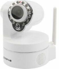 Witte Olympia IC 720 P IP-beveiligingscamera Binnen Rond Bureau/muur 1280 x 720 Pixels