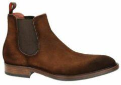 Greve suède chelsea boots bruin