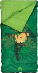 Abbey Camp slaapzak Jungle junior 140 x 70 cm polyester groen