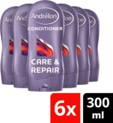Andrélon Andrélon Care & Repair - 300 ml - Conditioner - 6 stuks - Voordeelverpakking