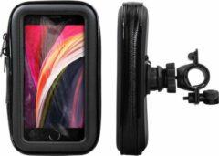 Shop4 - iPhone SE (2020) Fietshouder Stuur Spatwaterdicht Zwart