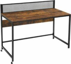 Maison Woonstore Maison's Bureau – Bureautafel – Laptop tafel – Zwart/Bruin – Industrieel – 60x120x93