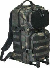 Brandit Backpack - Rugzak - Mollie system - medium - patched darkcamo