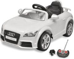 Witte VidaXL Elektrische auto Audi TT RS met afstandsbediening wit