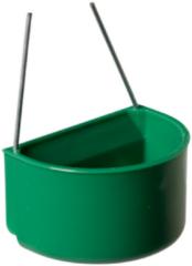 Pet products plastic kolibrie eet en drinkbakje klein, groen