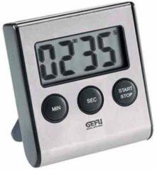 Zilveren GEFU Digitale timer- Zilver - RVS