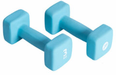 Blauwe Pure 2 Improve Neoprene Dumbbell 2 X 3 kg