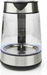 Transparante Nedis Waterkoker 1.7 L 360° Draaibaar Glas