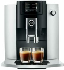 Zilveren Jura E6 - Espressomachine - Platina