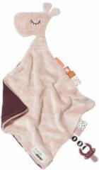 Done by Deer Baby Accessoires Comfort Blanket Raffi Roze