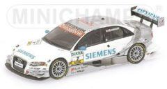 Audi A4 DTM #7 Team Abt Sportsline 2006 1:43 Minichamps Wit / Zilver 400 069607