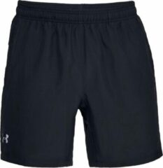 Under Armour Speed Stride 7'' Woven Short Heren Hardloopbroek - Zwart - Maat XL