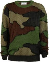 Verde Moschino Maglione maglia donna girocollo