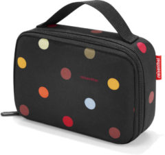 Reisenthel Thermocase Lunchbox - Polyester met aluminium voering - 1.5 L - Dots Zwart;Multi Kleur