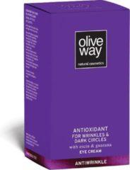 Oliveway Oogcrème tegen kringen en wallen 30ml