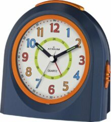 ATRIUM Wekker Analoog Donkerblauw Zonder tikgeluid - A921-5