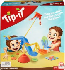 Rode Mattel Games Tip It - Actiespel