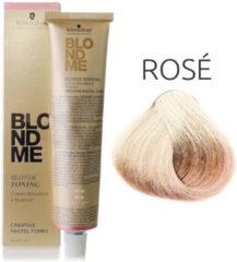 Schwarzkopf Professional Schwarzkopf - Blond Me - Bond Enforcing Blonde Hi-Lighting - Cool Rosé - 60 ml