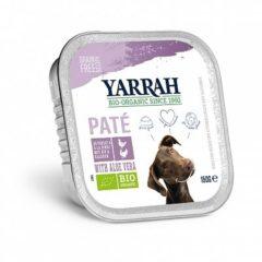 Yarrah Biologische Hondenvoer Pate - Glutenvrij Welness - 14x 150 gr