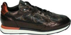 Bruine Floris van Bommel 85312 Dark Brown G-Wijdte Sneakers lage-sneakers