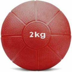 Matchu Sports - Medicijn ball - 2 kg - Rood