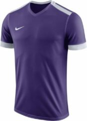 Nike Park Derby II SS Jersey Teamshirt Heren Sportshirt - Maat S - Mannen - paars/wit