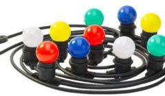 Luxform Party lights coloured decoratieve lamp 230V - meerkleurig